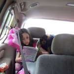 How to survive a long car ride with young children