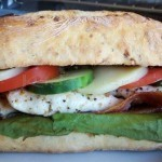 Lemon Chicken & Pesto Sandwich