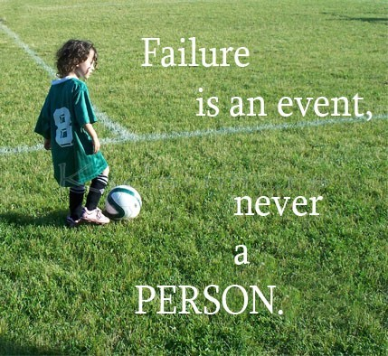 Some quotes on failure and determination