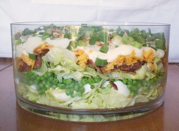 Thanksgiving Recipe: Layered Salad