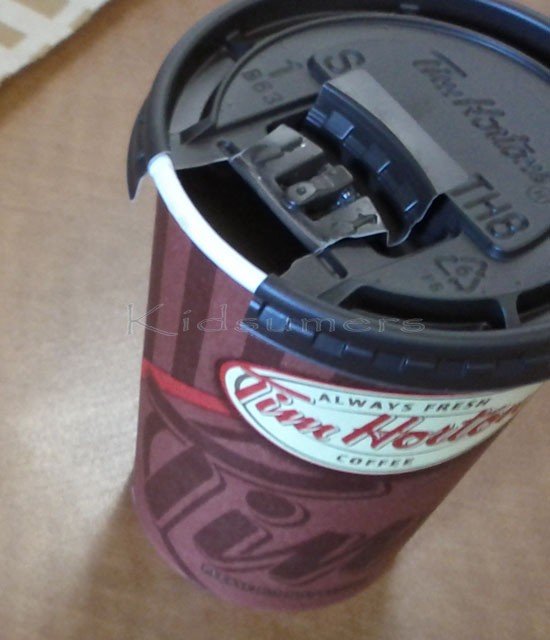 ISO of #EqualCanada at our local Tim Hortons #CBias