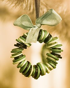 Decorate your tree with handmade ornaments
