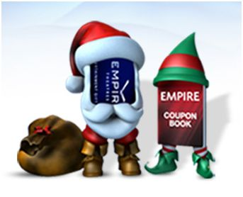 Give an Empire Theatre Coupon Bundle as a gift #EmpireHolidays
