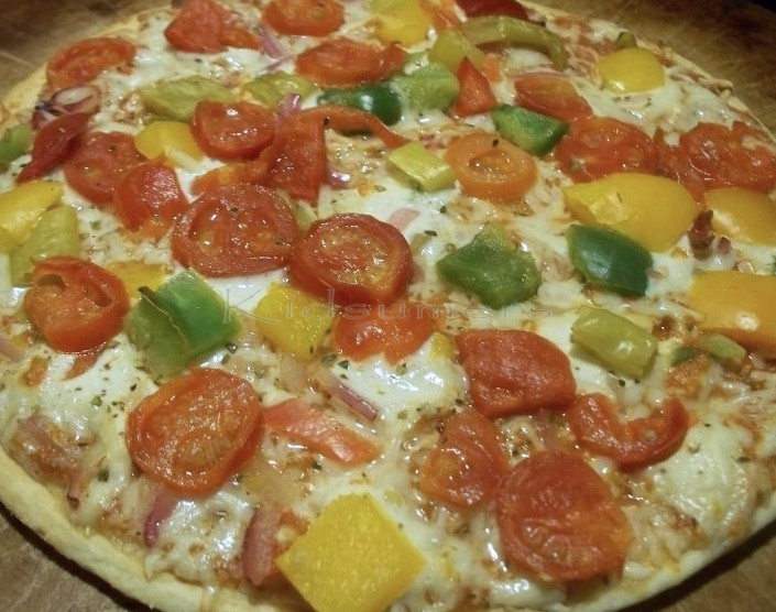 Another delicious pizza night with Dr. Oetker