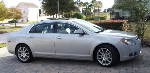 Riding in Style in a Chevy Malibu