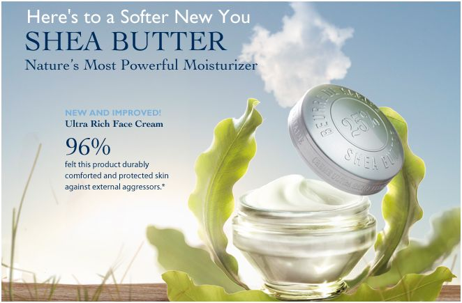 Smooth your skin with Shea Butter Body Lotion by L'Occitane