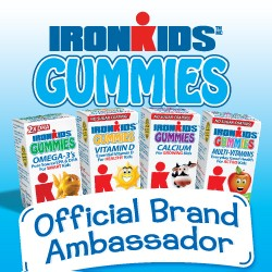 Win cash and gummy vitamins with #IronKids