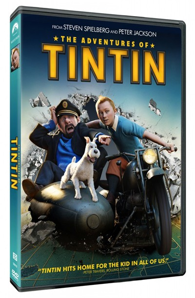The Adventures of TinTin is available on DVD and Bluray