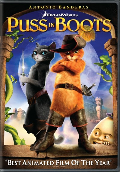 Puss In Boots is on DVD!