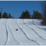 Discover River Valley Winter Tube Slide