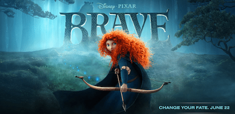 Brave comes to theatres on June 22, 2012