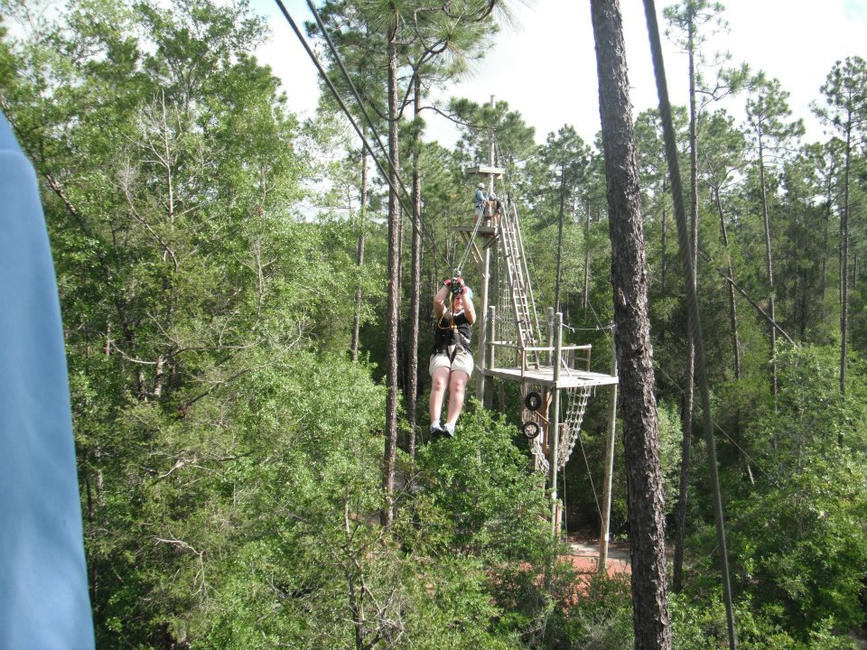 On Top of the World at Adventures Unlimited #brandcation #gulfcoast