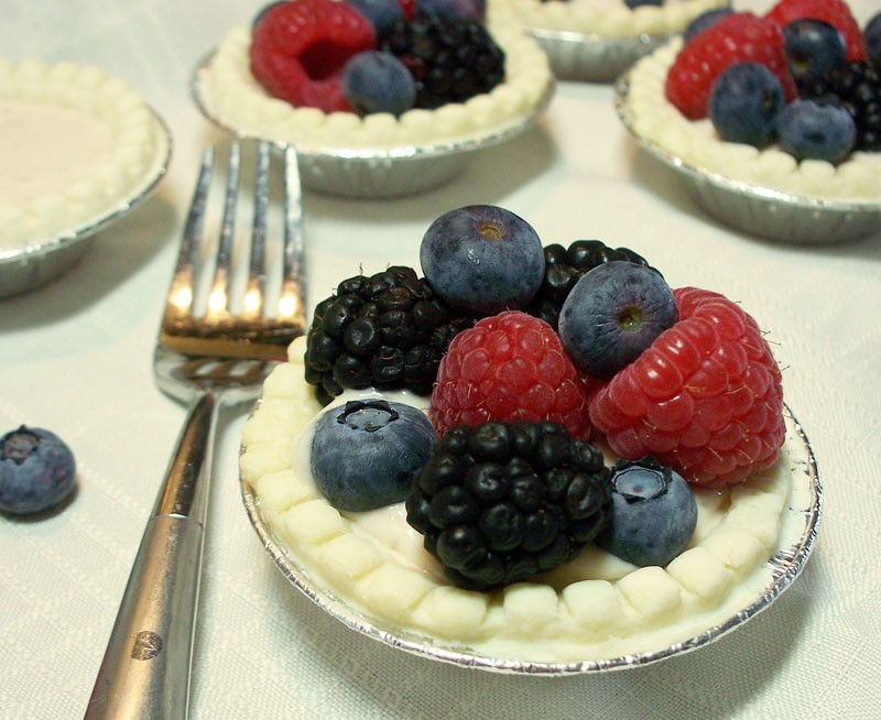 Dessert Recipe: Berry Tarts