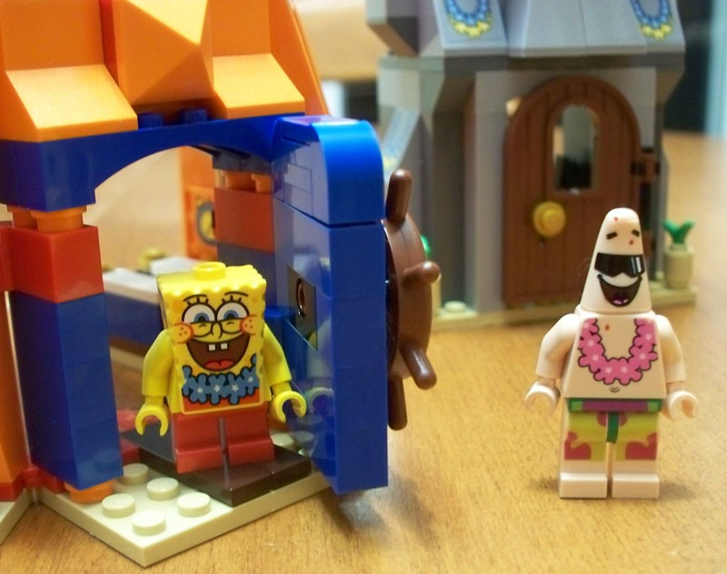 Win a SpongeBob Squarepants Lego Set