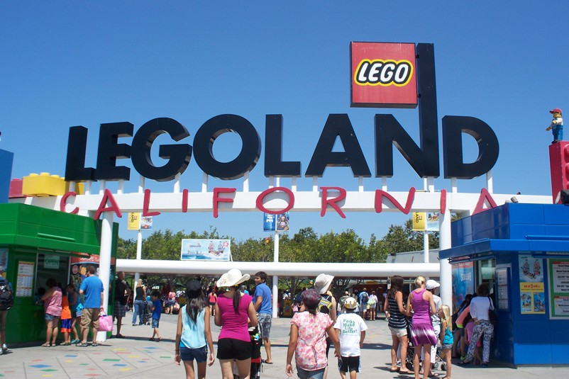 Build your own fun at Legoland California