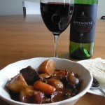 Fall Recipe: Beef Stew with red wine & mushrooms