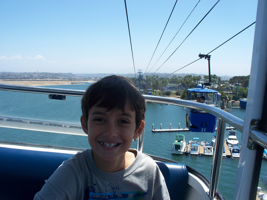 on the skyride