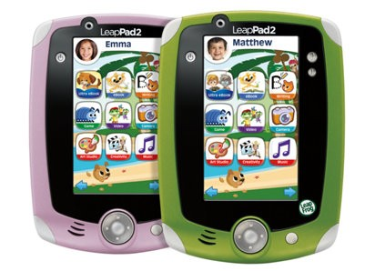 The LeapPad2 Explorer is at the top of their Christmas lists
