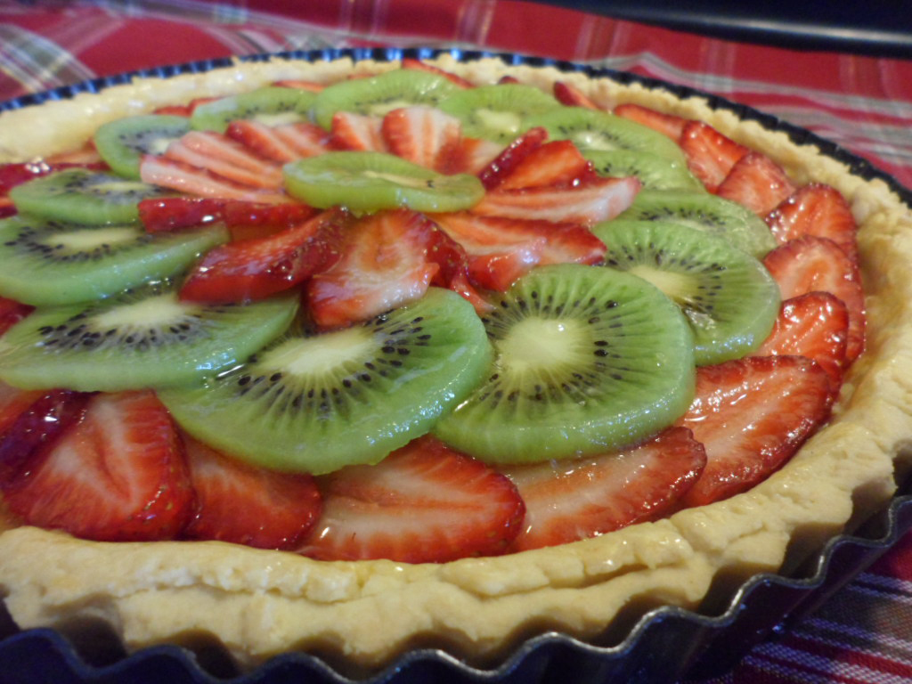 A healthy dessert choice for the holidays: Fruit Tart Recipe