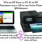 Win an HP Envy X2 PC & Photosmart Printer ARV $1049 {Canada}
