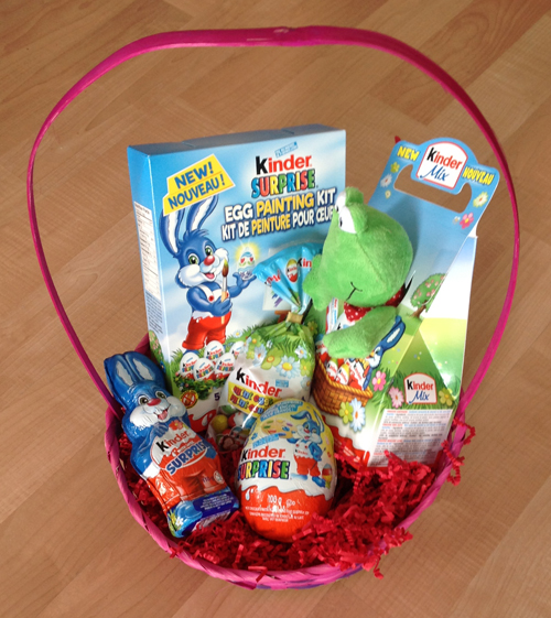 Kinder and easter go hand in hand kindermom kidsumers kinder basket 2 negle Image collections