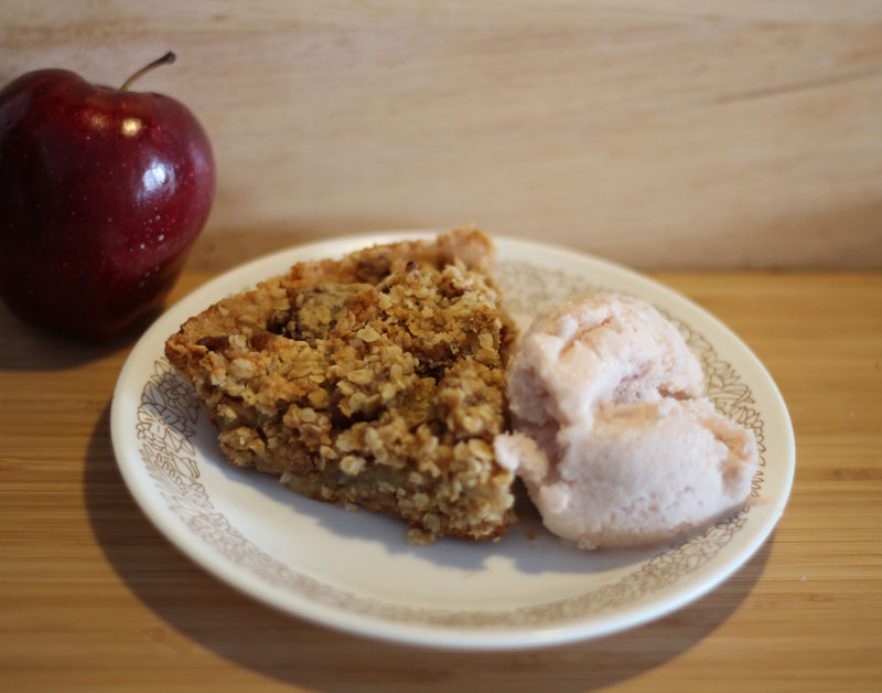 tenderflake apple crisp recipe