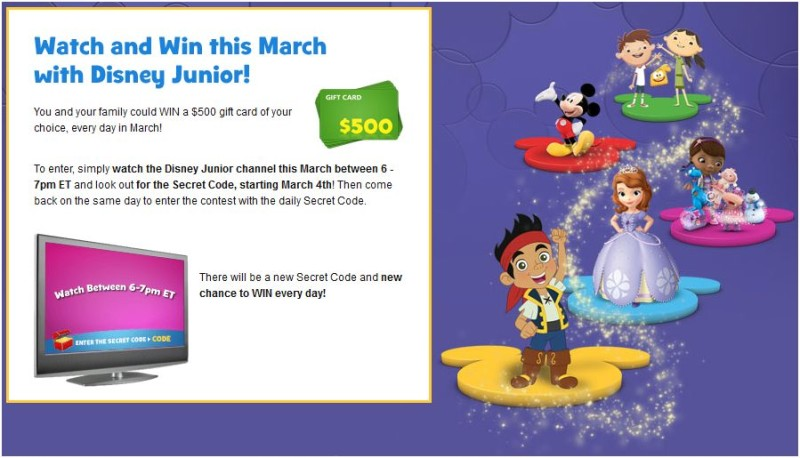 win disney junior