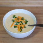 Recipe: Cheesy Cauliflower Soup