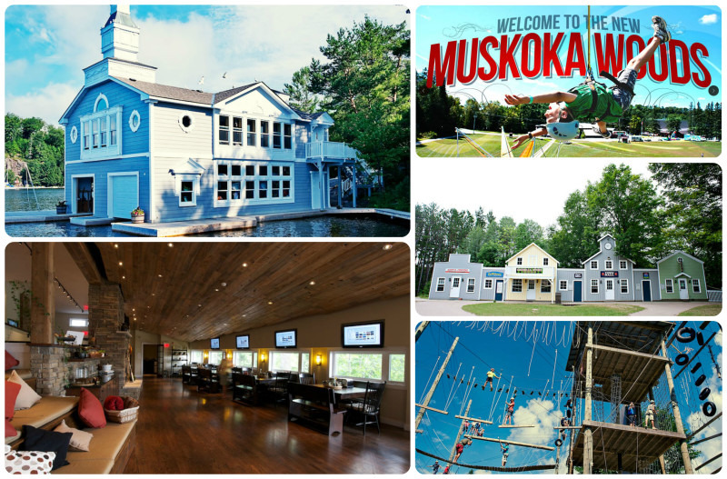 muskoka woods collage