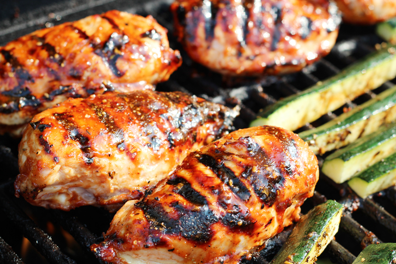 ... barbecued beef sliders barbecued buffalo wings barbecued chicken on