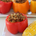 Grill Recipe: Butterball Stuffed Peppers on the Grill