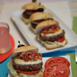 BBQ Recipe: Bruschetta Turkey Burgers for Dinner