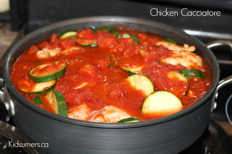 Entree Recipe: Chicken Cacciatore for Busy Moms