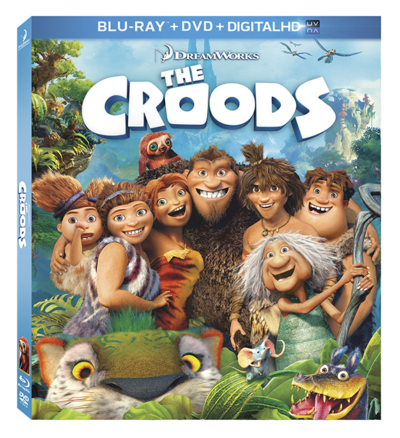Win a copy of The Croods #TheCroodsDVD