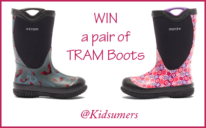 Win a pair of TRAM boots! {Canada}
