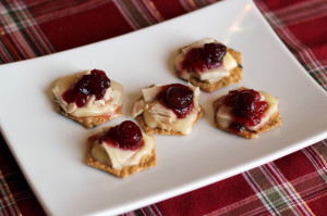 turkey brie bites
