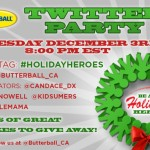 Join the #HolidayHeroes Butterball Twitter Party Dec. 3rd 8pm EST