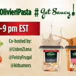 Join the Olivieri #GetSaucy Twitter Party on Nov 14th 8pm EST