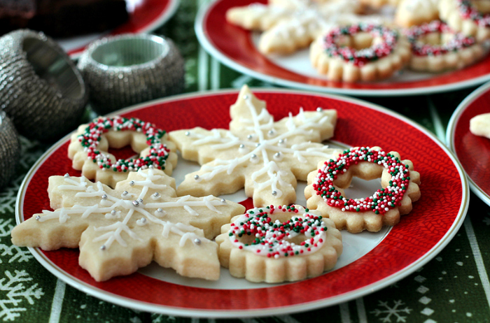 Cookie Recipe: Holiday Shortbread Cookies