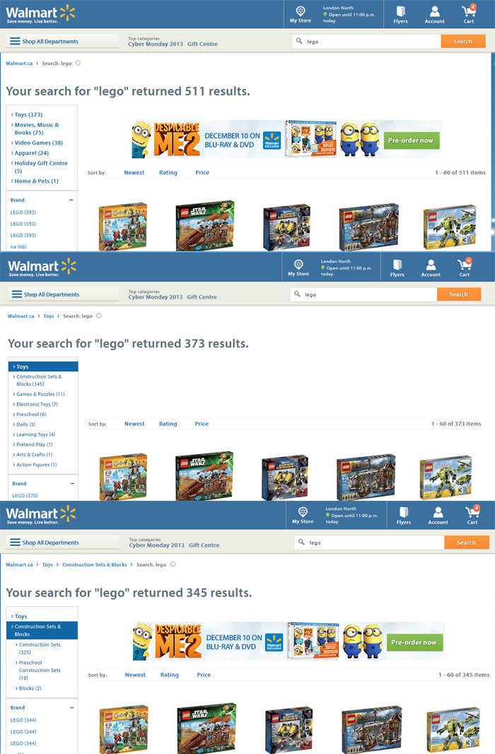 Walmart shopping online electronics