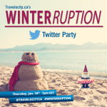 RSVP for the #WINTERRUPTION Twitter Party Jan. 16th 7pm EST