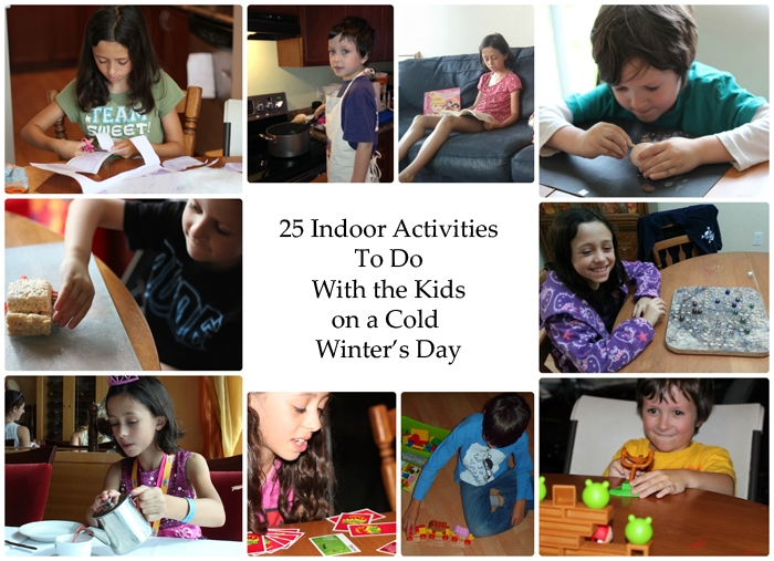 25 Fun Indoor Activities for Families