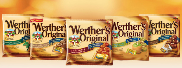 Werther's is my sweet treat with no guilt attached