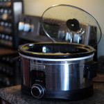 HB slow cooker open