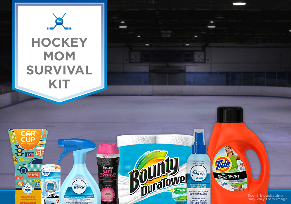 Win a Hockey Mom Survival Kit ARV $40 #PGMom #HockeyMomCA