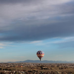 Almost Wordless Wednesday: A Hot Air Balloon ride