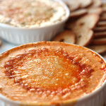 Red Pepper Dip made with Kraft Shredded Cheese with a Touch of Philadelphia
