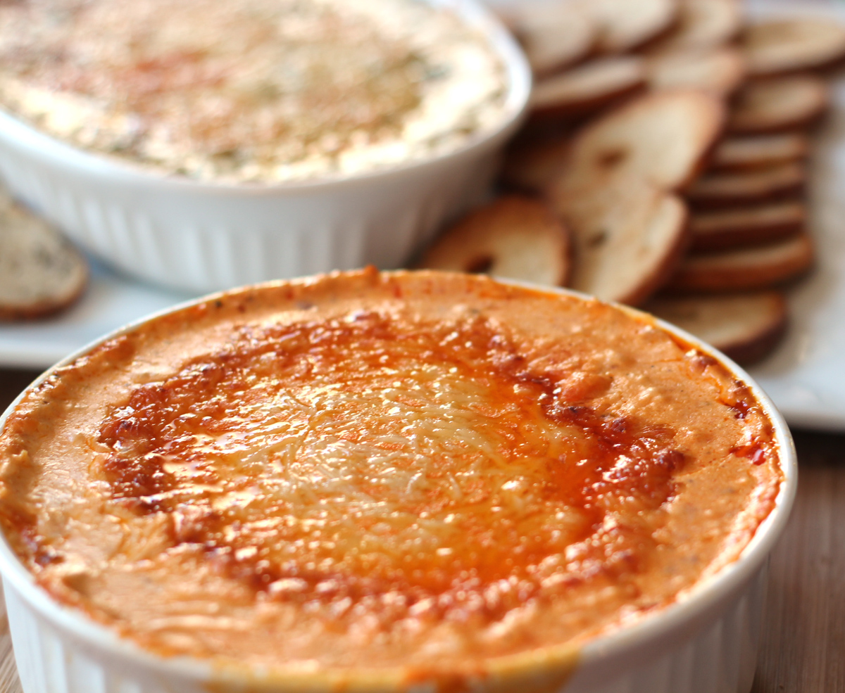 One Recipe, Two Dips: Cheesy Artichoke Dip Variations