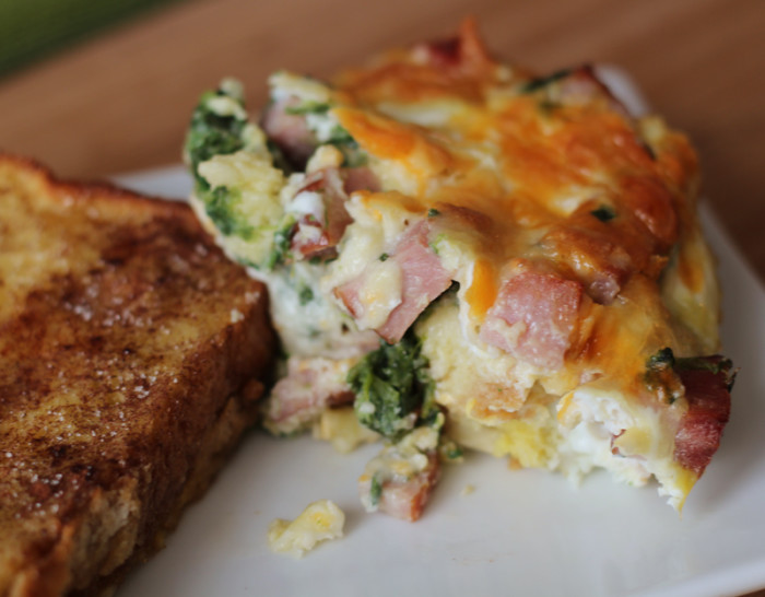 villaggio ham and egg casserole