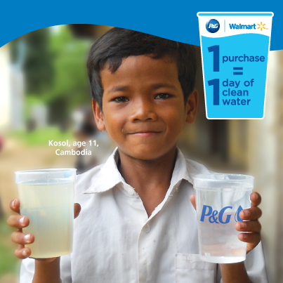 72 Hour Flash Giveaway! P&G Prize Pack! #PGMom #CleanWater
